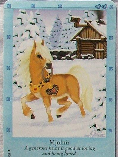Bella Sara Northern Lights Card #13 Mjolnir