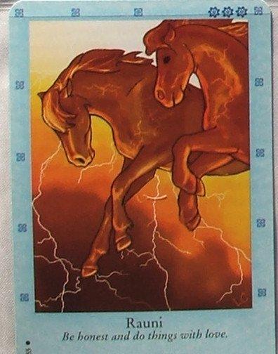 Bella Sara Northern Lights Card #16 Rauni