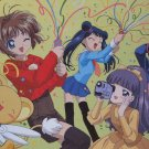 Cardcaptor Saukura Postcard - New Year's Group