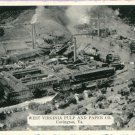 West Virginia Pulp and Paper Company, Covington VA Postcard by Hodges Studio