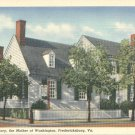 Home of Mary Ball Washington in Fredericksburg, Virginia Vintage Postcard