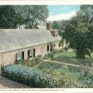James Monroe Law Office and Garden in Fredericksburg, Virginia Vintage Postcard