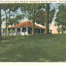 Fannie Lupton Building in Harrisonburg, Virginia Vintage Postcard