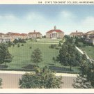 State Teachers College in Harrisonburg, Virginia Vintage Postcard