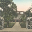 Massanetta Springs Hotel Bond Memorial Gate in Harrisonburg, Virginia Vintage Postcard