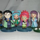 Lot of Six Tenchi Muyo Figurines