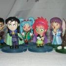Lot of Six Tenchi Muyo Figurines