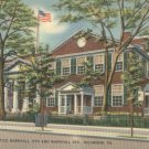 Home of Chief Justice Marshall in Richmond, Virginia Vintage Postcard
