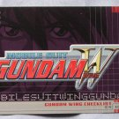 Gundam Wing Series One Checklist Card C1