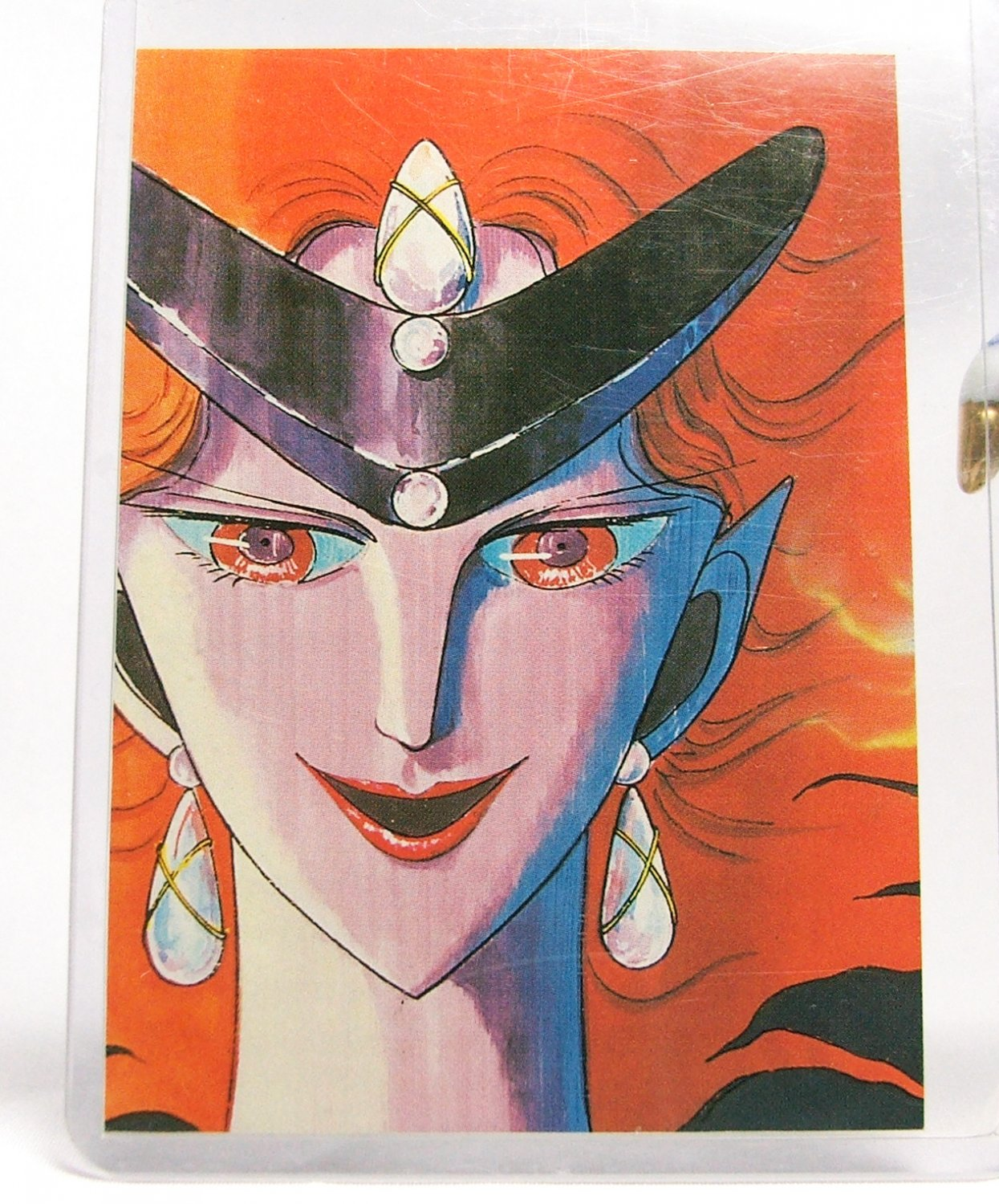 Sailor Moon DiC Fan Club Trading Card - Queen Beryl