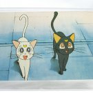 Sailor Moon DiC Fan Club Trading Card - Luna and Artemis