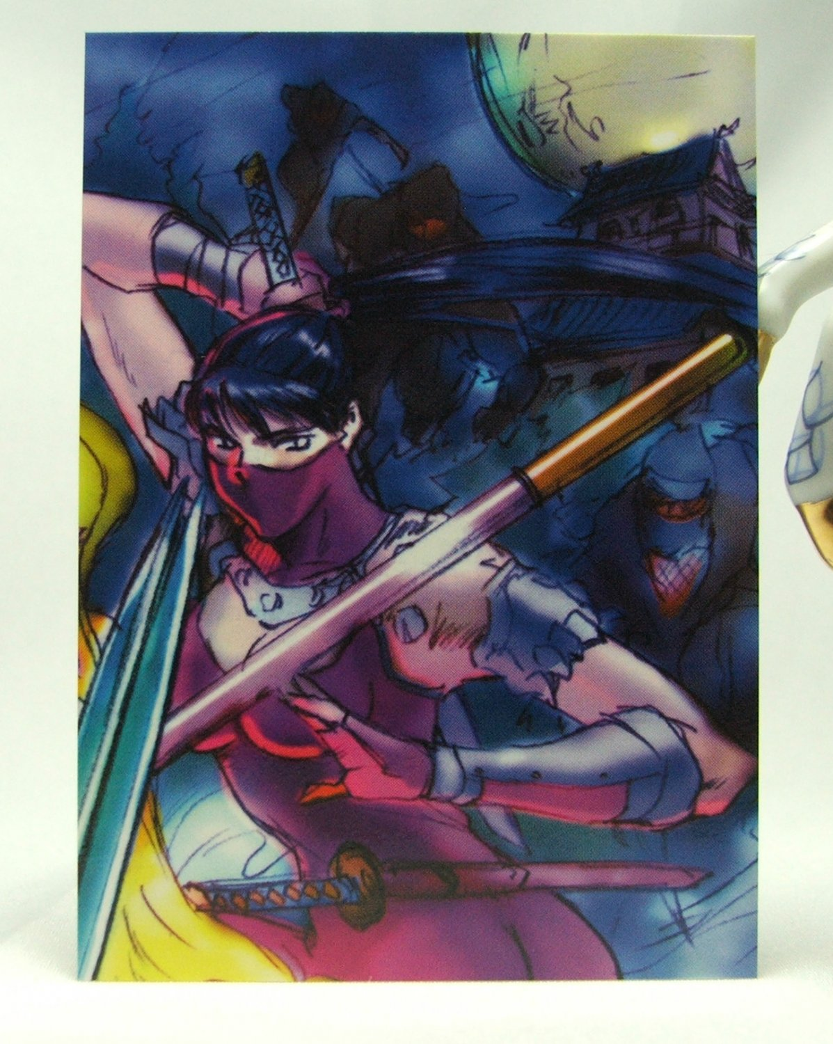 Soul Calibur Trading Card Collection Puzzle Card 075