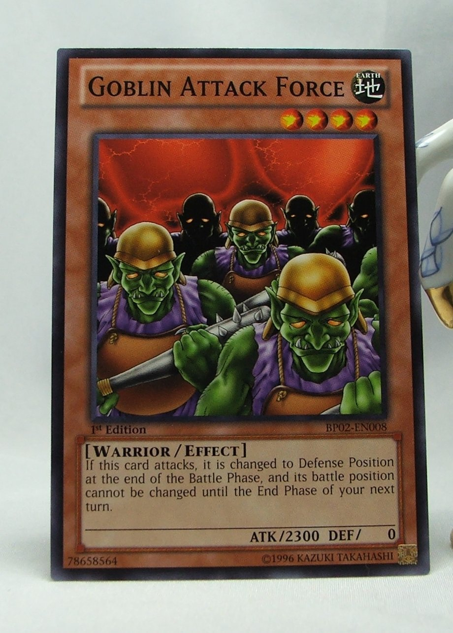 YuGiOh Battle Pack 2 War of the Giants First Edition BP02-EN008 Goblin Attack Force