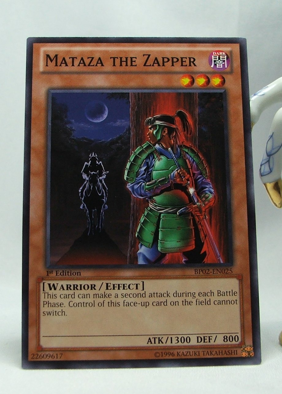 YuGiOh Battle Pack 2 War of the Giants First Edition BP02-EN025 Mataza the Zapper