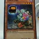 YuGiOh Battle Pack 2 War of the Giants First Edition BP02-EN114 Tardy Orc