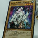 YuGiOh Battle Pack 2 War of the Giants First Edition Mosaic Rare BP02-EN002 Gene-Warped Warwolf