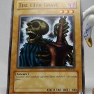 YuGiOh Legend of Blue Eyes White Dragon LOB-014 The 13th Grave