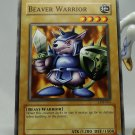 YuGiOh Legend of Blue Eyes White Dragon LOB-064 Beaver Warrior