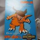 Digimon Photo Card #12 Greymon