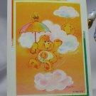 Care Bears 1994 Trading Sticker #53 - Funshine Bear