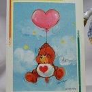 Care Bears 1994 Trading Sticker #67 - Tenderheart Bear