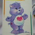 Care Bears 1994 Trading Sticker #80 - Harmony Bear
