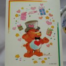 Care Bears 1994 Trading Sticker #115 - Tenderheart Bear