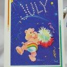 Care Bears 1994 Trading Sticker #117 - Cheer Bear