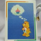 Care Bears 1994 Trading Sticker #125 - Birthday Bear