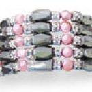Genuine Pink Pearl Magnetic Hematite 45