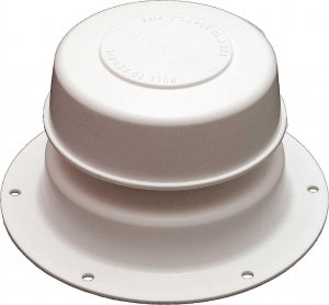 Camco 40032 Sewer Plumbing Roof Vent Cap Polar White