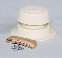 Camco 40133 Sewer Plumbing Roof Vent Cap Complete Kit w/base & seal