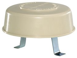 Camco 40034 RV Sewer Plumbing Roof Vent Cap Polar White