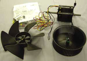 Dometic 3108706.916 Fan Motor Kit Brisk Air Duo Therm