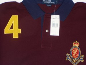 Polo Ralph Lauren Large Crest #4 Polo Shirt Size Medium