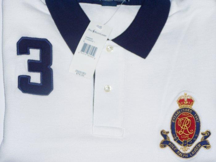 Polo Ralph Lauren Crest #3 Polo Shirt Size Large