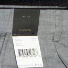 Claiborne Gray Pin Stripe Dress Slacks 30x32