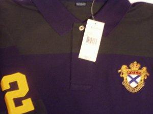 Polo Ralph Lauren Crest #2 Polo Shirt Size Large