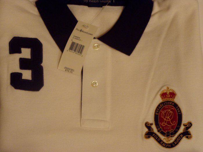 Polo Ralph Lauren Crest #3 Polo Shirt Size Extra Large