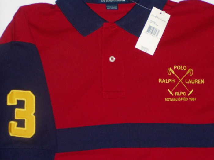Polo Ralph Lauren Big Logo #3 Polo Shirt Size Extra Large