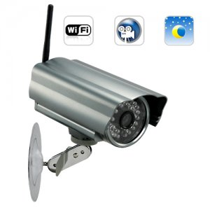 IP Security Camera (WIFI, DVR, Night Vision)
