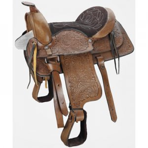 "12"" Pony Saddle & Square Skirt"