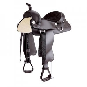 All-Around Synthetic Western Saddle