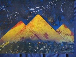Stormy Pyramids