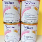4 - 14.1oz cans NEOCATE INFANT with DHA/ARA by NUTRICIA - NEW