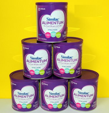 6 - 12.1oz cans Similac Alimentum Infant Formula 12.1 oz - NEW $129.50