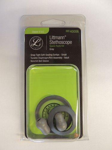 40006 3M LITTMANN Stethoscope Spare Parts Kit Classic II SE - Gray