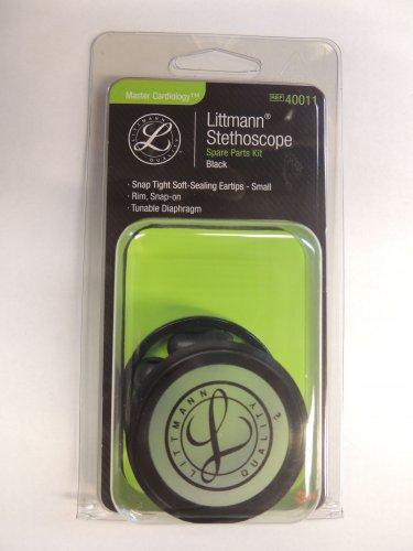 40011 3M LITTMANN Stethoscope Spare Parts Kit Master Cardiology - Black