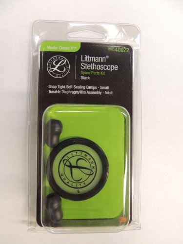 40022 3M LITTMANN Stethoscope Spare Parts Kit Master Classic II - Black