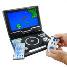 Portable Multimedia DVD + TV + CD Player with 9 Inch Widescreen